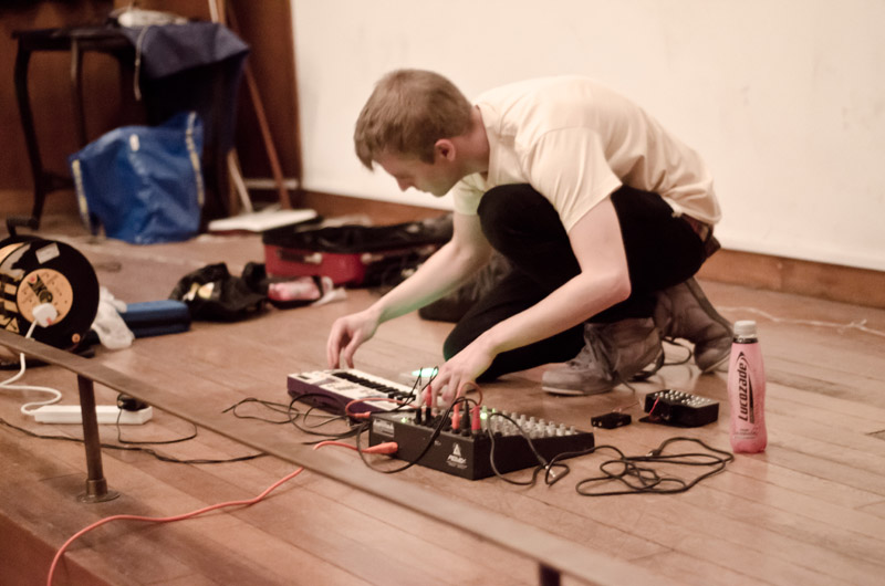 Vivid Projects, Dirty New Media, Circuit Bending, 2013