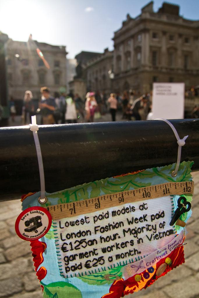 Mini Protest Banner