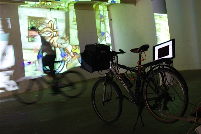 Vivid Projects, WB Bikes Animation, Summer fete