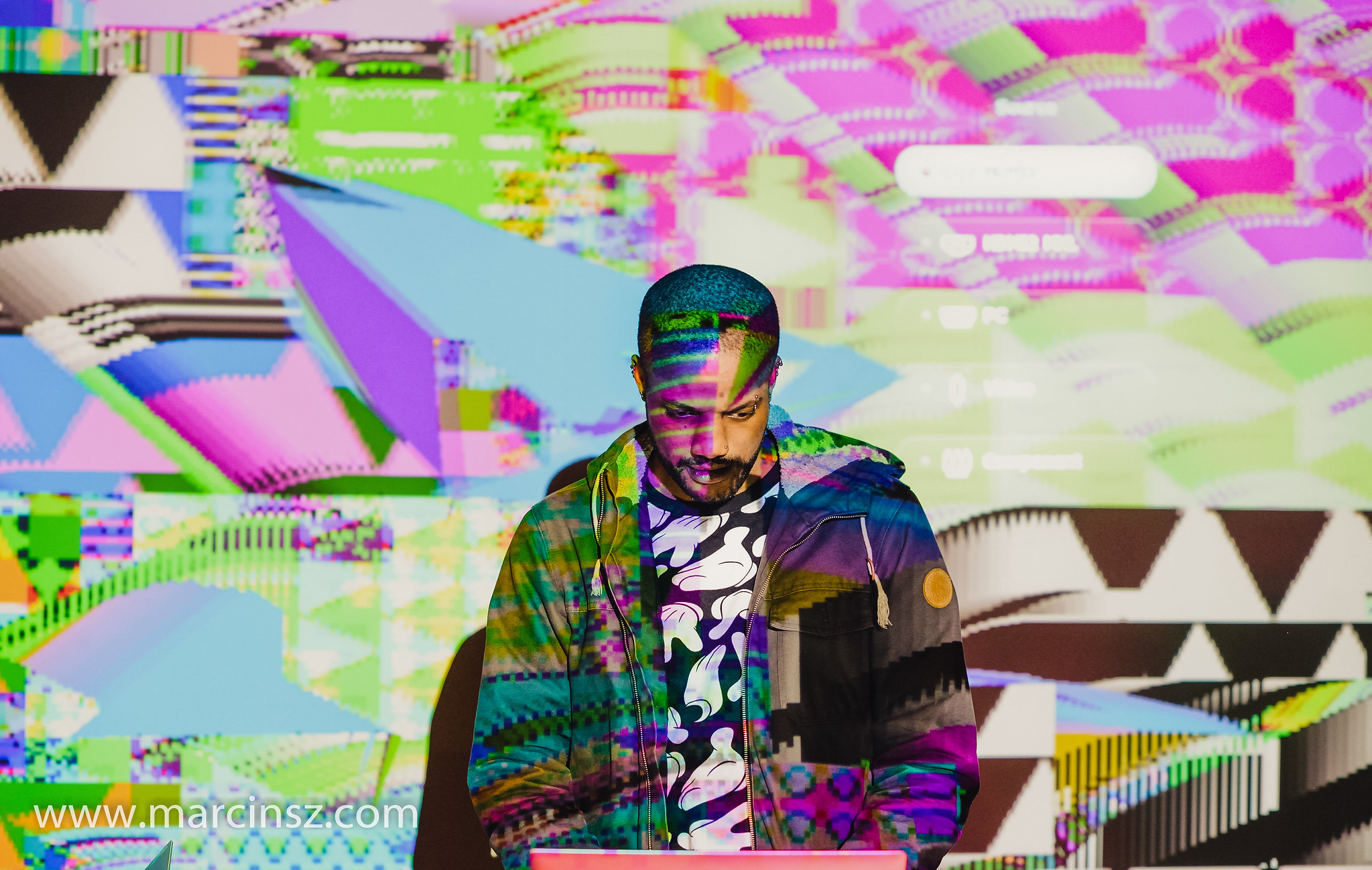 Antonio Roberts, Algorave for Mediafest, Vivid Projects October 2018